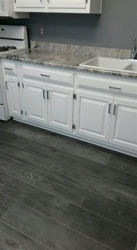 kitchen cabinets countertops and flooring combinations love the grey and white combination in this kitchen from