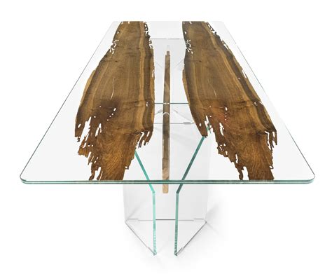 tavolo vetro tavolo vetro e legno