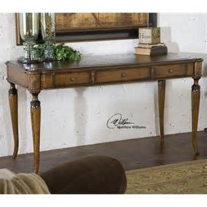 distressed wood desk uttermost colter distressed solid wood writing desk in