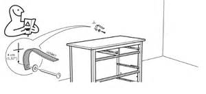 securing your furniture to the wall flat pack