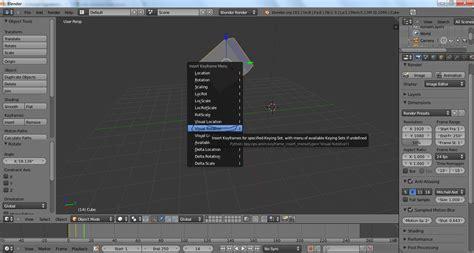 tutorial blender membuat animasi tutorial membuat animasi sederhana pada blender untuk pemula