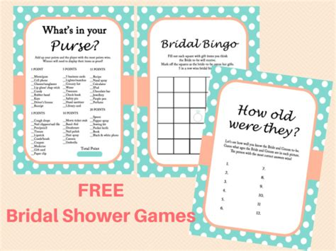 free bridal shower game ideas page 2 of 4 bridal shower free mint bridal shower game printables bridal shower