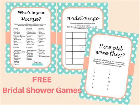 free printable bridal shower bridal shower ideas free mint bridal shower printables