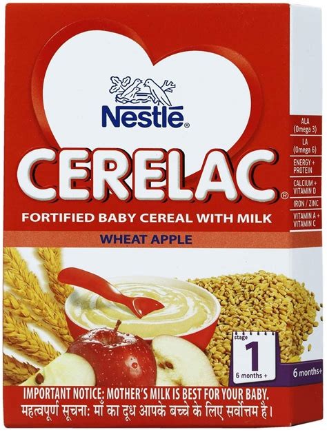 milk cereal books buy nestle cerelac stage 1 wheat apple refill 300 gms