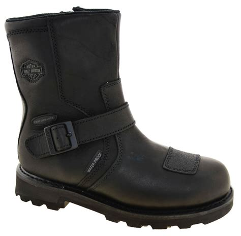 mens waterproof motorcycle boots harley davidson s blaine waterproof motorcycle boots