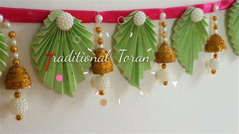 diy trendy torandoor hangings  paper  home diwali