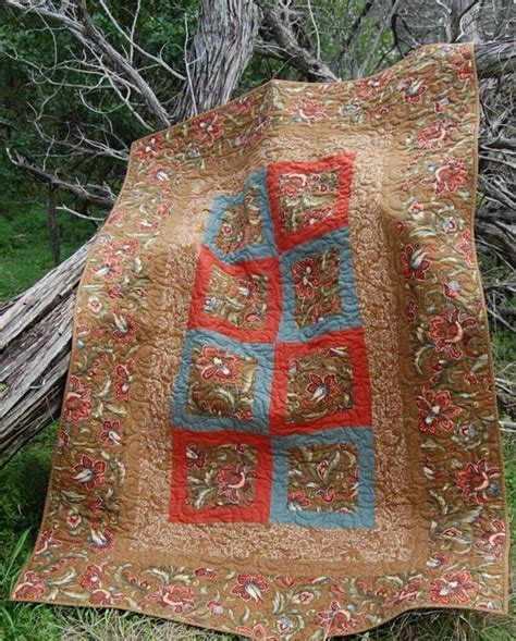 Large Quilt Pattern by Large Print Quilt By Sunflowerquilts Quilting Pattern