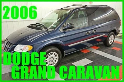 how to work on cars 2006 dodge grand caravan seat position control purchase used 2006 dodge grand caravan se nice 76xxx orig 60 photos three rows must see in