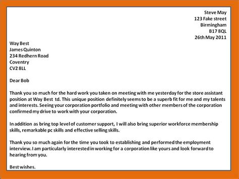 thank you letter after fit how to get a do employers expect a