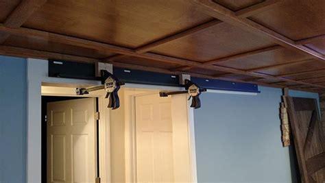 How To Install Barn Door Track Low Door The Ultimate Doorhandle