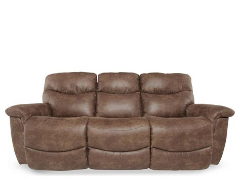 La Z Boy Leather Sofas La Z Boy Silt Performance Leather Power Sofa Mathis Brothers Furniture