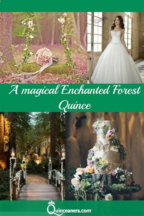 Quinceanera Themes Enchanted Forest | a magical enchanted forest quince
