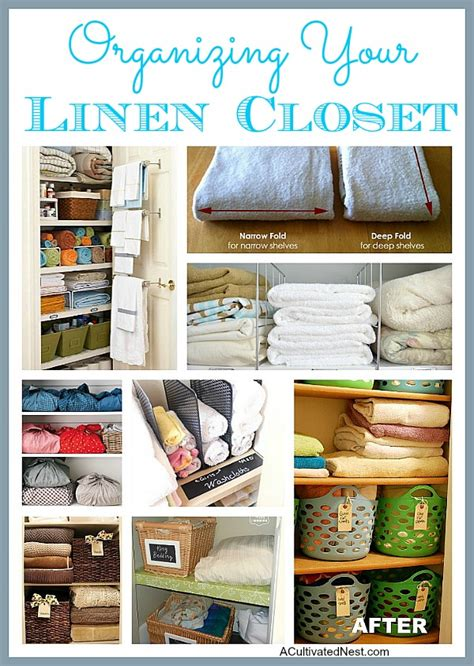 Linen Closet Organization Tips by Organizing Your Linen Closet A Cultivated Nest