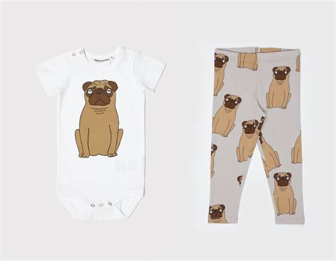 pug clothing for humans pug themed children s accessories and clothing from mini rodini milk
