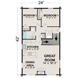Cabin Plans Under 1000 Sq Ft by Small House Plans Under 1000 Sq Ft Small House Plans Under