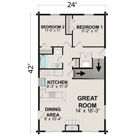 600 Sq Ft Floor Plans by Small House Plans Under 1000 Sq Ft Small House Plans Under