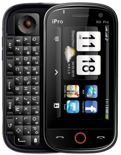 sell side slide qwerty keypad touch screen phone mobiles