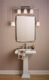 Small Bathroom Lighting Home Improvement Small Bathroom Design