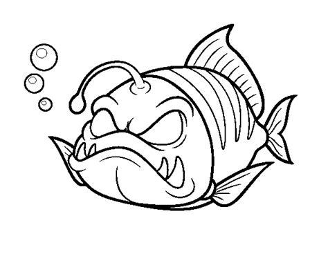 Lantern Fish Coloring Pages   nemo lantern fish coloring sheet coloring pages
