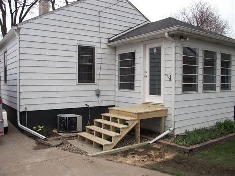 door steps  landing scoakats blog exterior