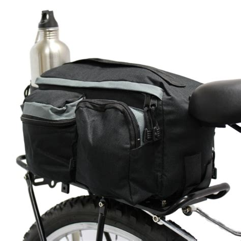 pedalpro bike bicycle cycle rear single rack bag front