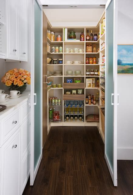 Melamine Kitchen Cabinet walk in pantry traditional kitchen new york by