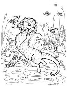 otter coloring pages river otter coloring page az coloring pages
