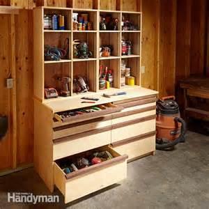 tool storage shelves tool storage the family handyman