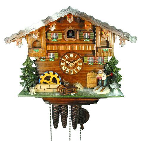horloge a coucou pendule 224 coucou horloge d hiver coucous musicaux 1 jour nr 3 0503 01 p