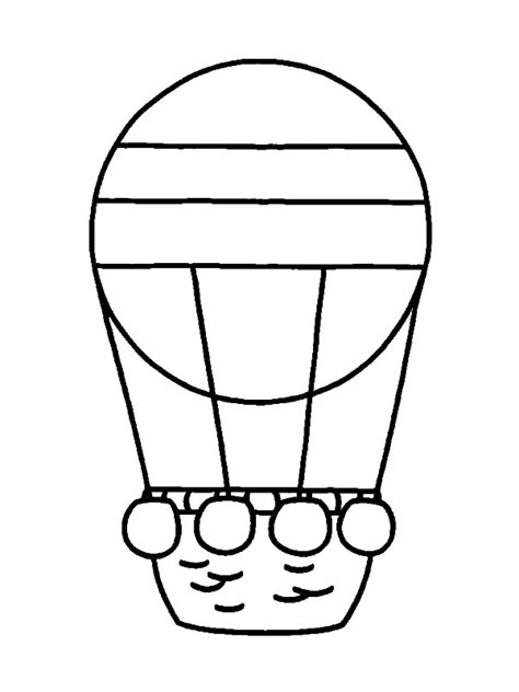 balloons coloring pages preschool 40 hot air balloon coloring pages coloringstar