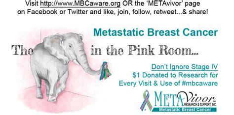 the pink elephant in the room metavivor kohls and the elephant in the pink room