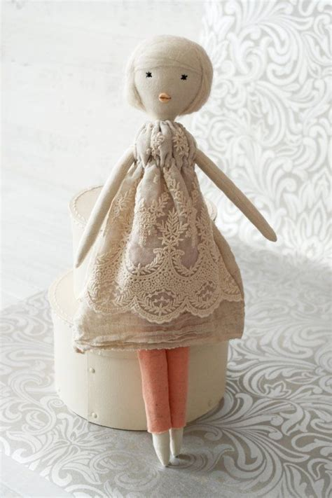 Handmade Rag Doll - rag doll handmade retro one of a clara