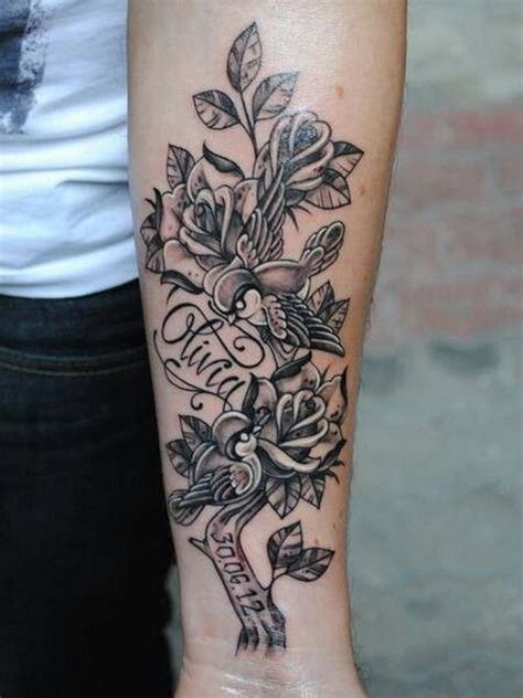 tattoo name ideas on arm flowers name tattoo ideas on arm tattoo designs ideas