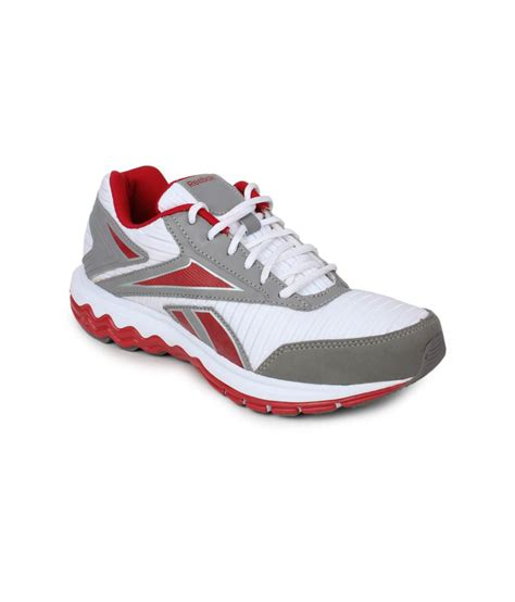 reebok white running sport shoes buy reebok white