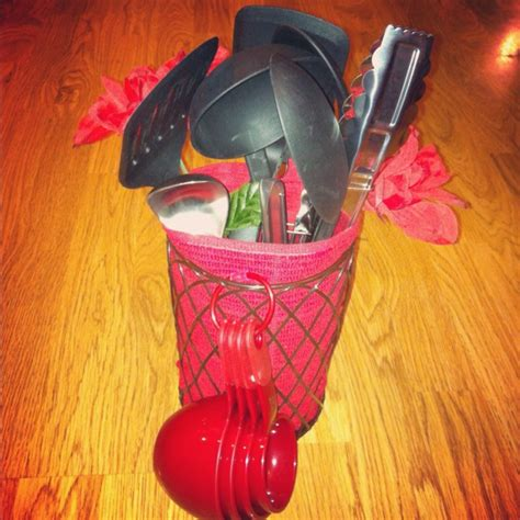 Diy Kitchen Utensil Bouquet Bridal Shower Gift Kitchen Utensil Bouquet My