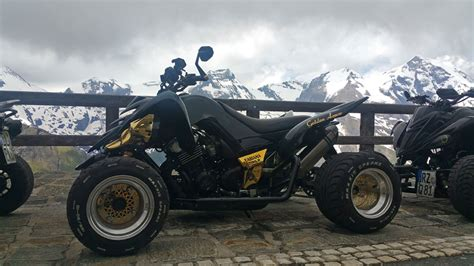 Quad Verkleidung Polieren by Marco Behl Vierzylinderumbau Golden Arrow Atv Quad
