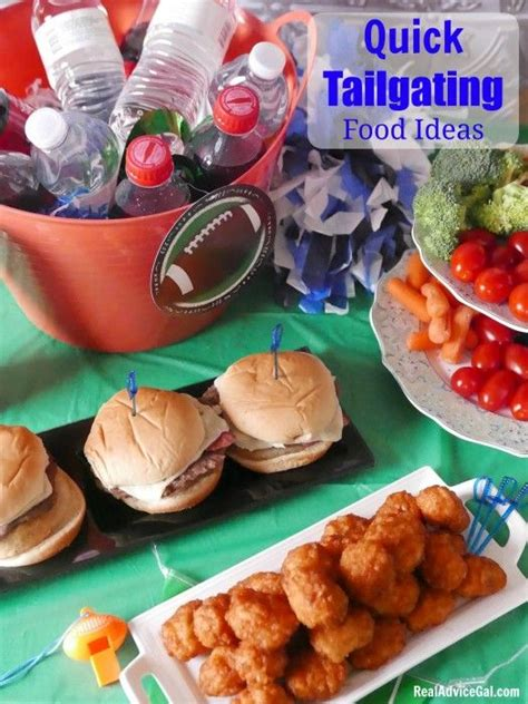 quick tailgating food ideas to make watching the game more