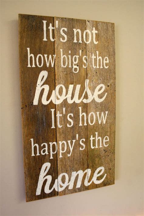 pallet sign reclaimed wood sign rustic home decor