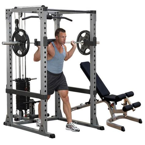 body solid bench review body solid gpr378 power rack lat package with bench