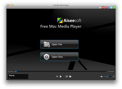 best media player software free mac media player 1 0 6 freeware aiseesoft