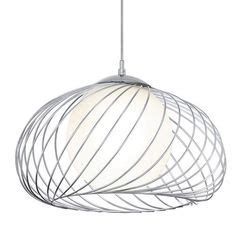 black eglo razoni metal caged shade with frosted glass