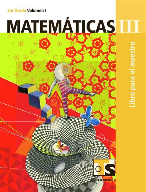 issuu libro de matemticas contestado maestro matem 225 ticas 3er grado volumen i by rar 225 muri issuu