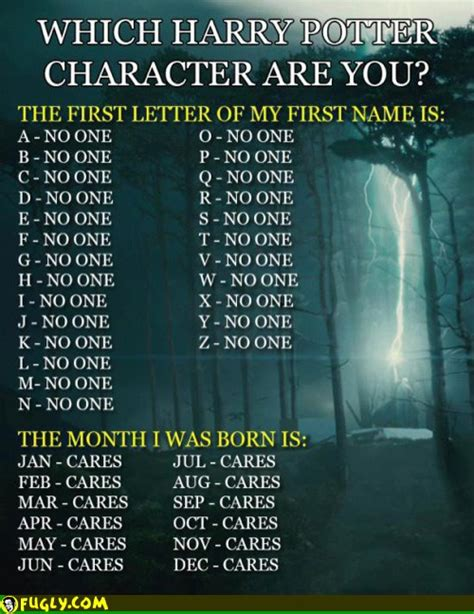 which are you which harry potter character are you
