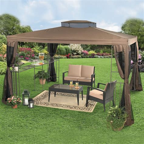 canopy backyard backyard gazebo bar ideas beautiful rectangular gazebo