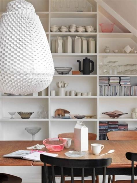 small dining room organization and small dining room design with storage ideas