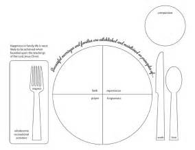 table setting template 5 best images of printable placemats for preschoolers