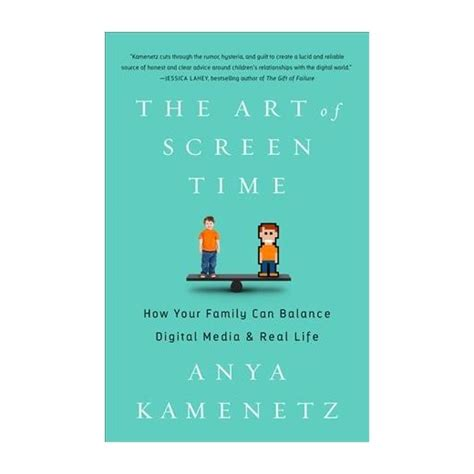 the of screen time how your family can balance digital media and real books of screen time how your family can balance digital