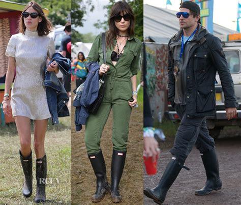 celeb hunter boots celebrities love hunter boots red carpet fashion awards
