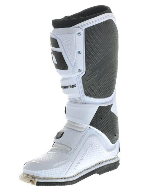 gaerne sg12 motocross boots gaerne white sg12 mx boot ebay
