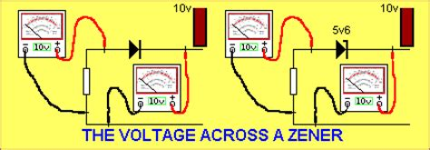zener diode operation animation zener diyot